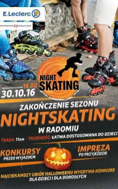 Halloween'owy Nightskating